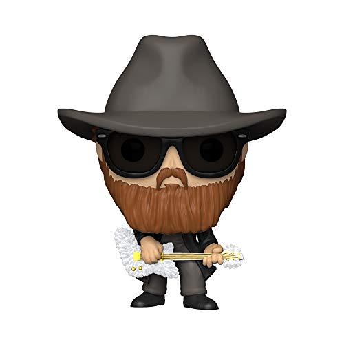 Funko- Pop Rocks ZZ Top-Billy Gibbons Figura Coleccionable, Multicolor (41150)