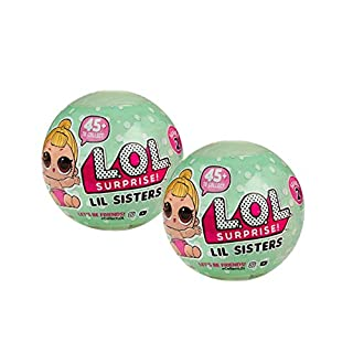 L.O.L Surprise Dolls Series 2 Lil Sisters Ball - Set of 2