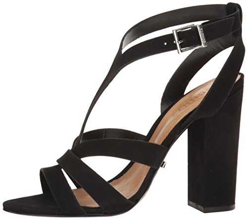 Schutz Women's Veggy Dress Sandal, Black, 8 M US
