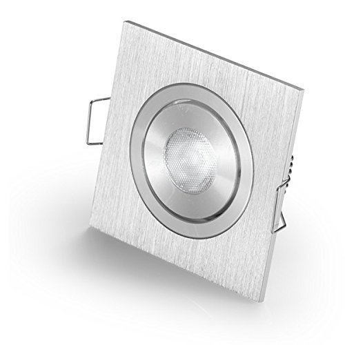 Driver White 3000Kixture Small Recessed LED Spot light for CREE 3W LED Square Angle Adjustable