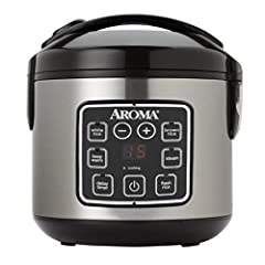 Let Aroma do the Cooking for You Enjoy easy home cooking with the Aroma 8-Cup Digital Rice Cooker & Food Steamer. Restaurant-quality rice. Healthy steamed meals. Delicious one-pot dishes. Prepare all this and more at the press of a button...