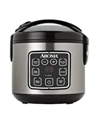 Aroma Housewares ARC-914SBD 8-Cup (Cooked) Digital Cool-Touch...