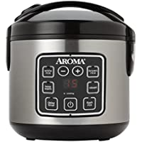 Aroma Housewares ARC-914SBD 8-Cup (Cooked) Digital...