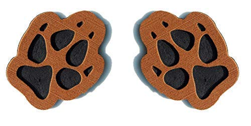 Toejamr Snowboard Stomp Pad - 2 Puppy Paws - Brown (Canada Stomp Pad)