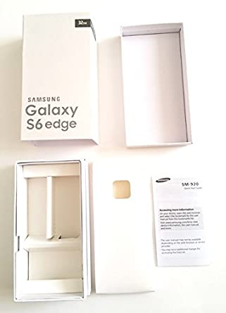 Amazon replacement empty box only for samsung galaxy s6 edge replacement empty box only for samsung galaxy s6 edge 32gb sapphire black international sciox Gallery