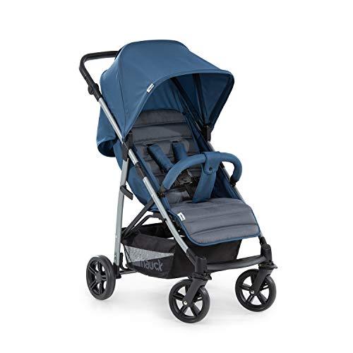 Hauck Rapid 4 Silla deportiva con respaldo reclinable para Bebés, desde nacimiento hasta 15 kg/4 años, Capacidad de carga 25 kg, Azul (Denim/Grey) a buen precio