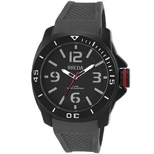 Breda Men's 9301-Grey Ethan Tachometer Bezel Matte Watch