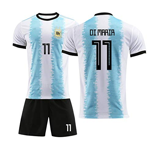 - FLYSXP T-Shirt Men's 2019 America's Cup Argentina Jersey Football Training Suit Short-Sleeved Shorts T-Shirt (Color : B, Size : L)