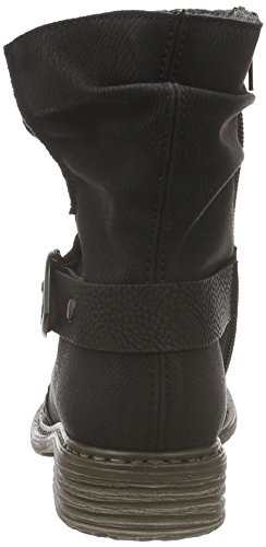 Rieker Z2168, Botas Para Mujer Negro (Schwarz/schwarz)