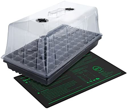 TopoLite 24 x24 x48 Indoor Grow Tent Hydroponic Growing Dark Room Green Box with Viewing Window
