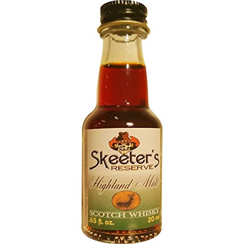 (Skeeter's Reserve Highland Malt Scotch Whisky Premium Essence - Flavor Concentrate For Mixers and Cooking Recipes - Official Reloads For The Outlaw Kit MADE BY American Oak Barrel - 20 ml bottle)