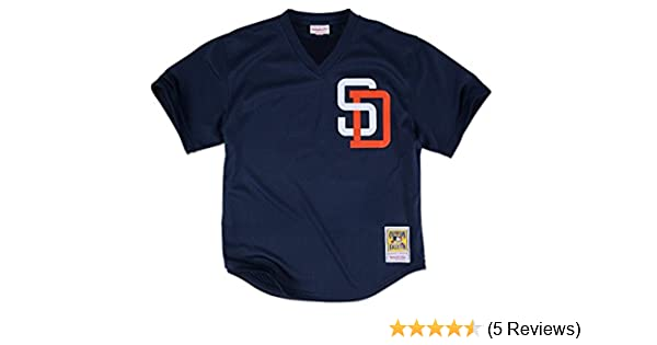 best authentic a379a 6206c Mitchell & Ness Tony Gwynn Navy San Diego Padres Authentic Mesh Batting  Practice Jersey
