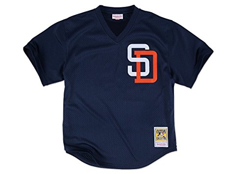 Tony Gwynn Navy San Diego Padres Authentic Mesh Batting Practice Jersey X-Large (48)