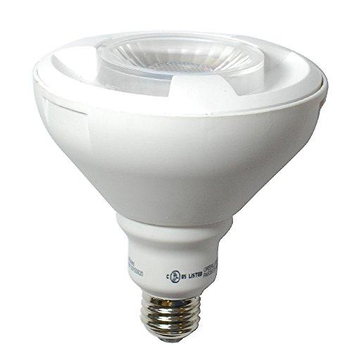 Uv Heat Bulb 100w Flood (High Quality LED 14w Dimmable PAR38 Warm White Light Bulb - 100w Equiv.)