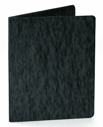 Oxford Pressboard Report Covers With Scored Side Hinge, 5 Pack, Letter, Black 99406 by Oxford