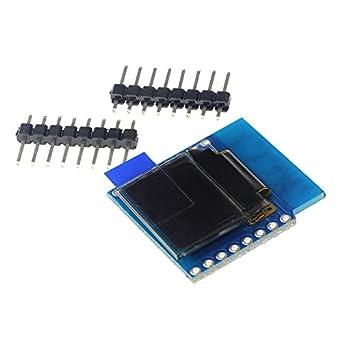 Smart Electronics 0 66 Inch OLED I2C Shield D1 Mini 64X48 IIC for