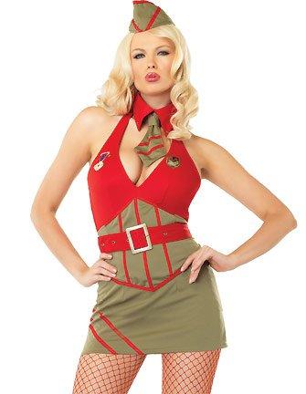 Major Diva - Women's Military Sexy Costume