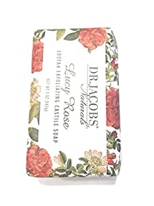 Dr Jacobs Naturals Lucy Rose Loofah Exfoliating Castile Soap