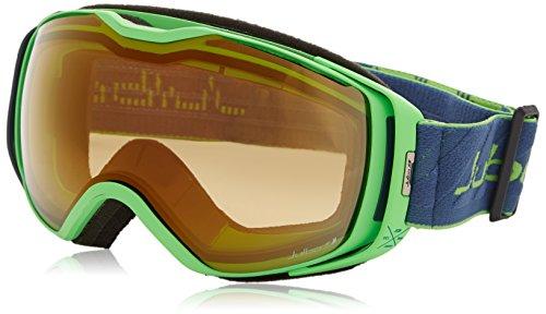 JULBO Universe Goggles with Zebra Lens, Green/Dark Blue, ...