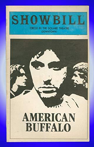 American Buffalo, Off-Broadway Playbill + Al Pacino, J.J. Johnston, James ()