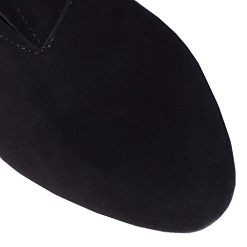 Kaiser Black Pantalón Hanara En Superior Zapatos Negro Sued Ante Alta Peter PwqdzTP