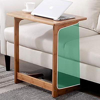 LYR Mesa para sofá Mesa Auxiliar Mesa de bambú para ...