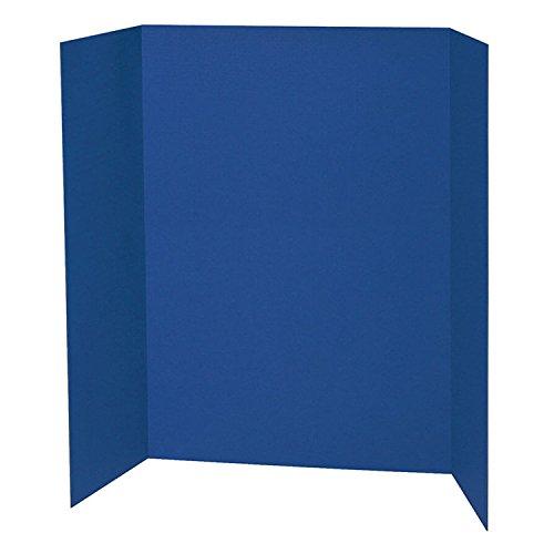 "Pacon PAC3767BN Presentation Board, Blue, Single Wall, 48"" x"