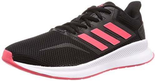 adidas Women's Runfalcon Running Shoes Nero Core Black/Shock Red/FTWR White, 4.5 UK