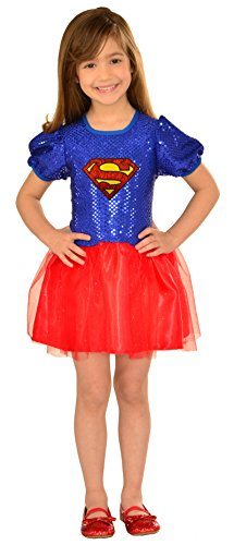 Girl Superman Costumes (Imagine by Rubies DC Superheroes Costume Dress, Superman)