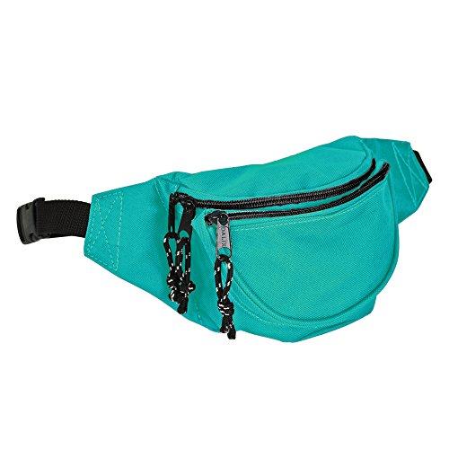 DALIX Fanny Pack w/ 3 Pockets Traveling Concealment Pouch Ai