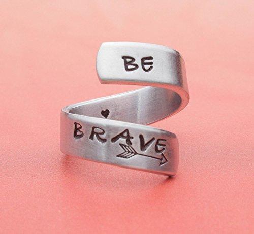 Aluminum Handmade Jewelry Survivor Inspirational