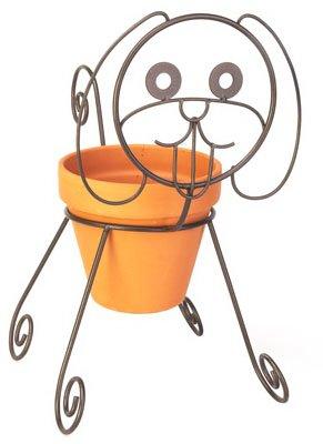 Dog Planter Pot Holder
