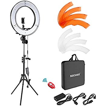 Amazon Com Viltrox Ring Light With Stand 18 Quot Led