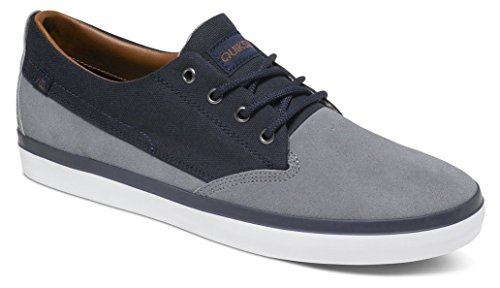 Blue Beacon Quiksilver up Blau Herren Blue Top Low White Lace Shoes Suede Xbbw 11rvwpq5n