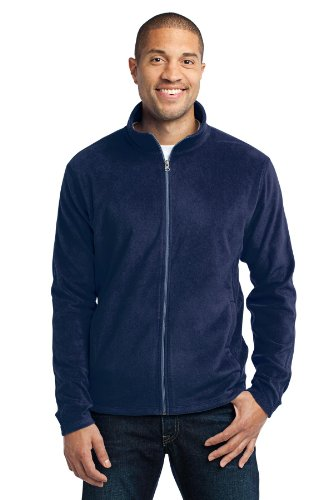 Port Authority Men's Microfleece Jacket M True Navy