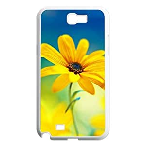 Daisies Unique Design Cover Case with Hard Shell Protection for Samsung Galaxy Note 2 N7100 Case lxa#397923