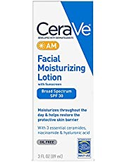 CeraVe Moisturizers, Moisturizing Facial Lotion AM, 3 Ounce