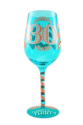30th wine glass - 4