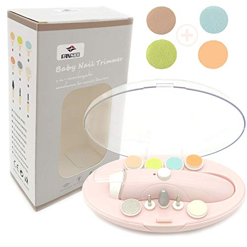 Rechargeable Baby Nail File