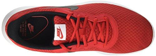 Nike Mens Tanjun Premium Nero / Luminoso Rosso / Bianco