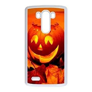 LG G3 Cell Phone Case White_Pumpkin Xapii