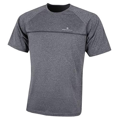 Sporting Goods Spirited Ronhill Everyday Mens Long Sleeve Running Top Grey Volume Large