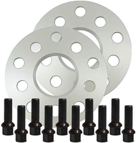 Silverline Spurverbreiterung 30mm 15mm Mit Schrauben Silber 5x112 57 1mm 12119e 53 M1415ku43s Auto