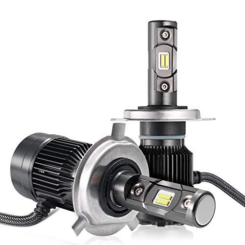 Removed Pattern Needs - AUTLEAD LED Headlight Bulbs - H4 (HB2, 9003), High/Low Beams, Fog Light, CSP Chips, 7200LM, 6500K Cool White, All-in-one Waterproof Conversion Kit, DOT Approved