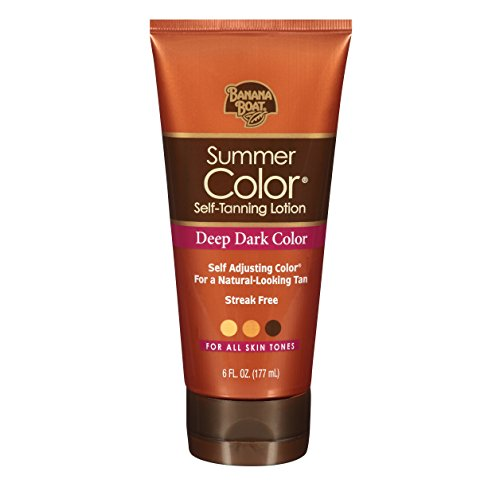 Summer Color Self Tanning Lotion -Deep Dark-6 Oz by Banana Boat