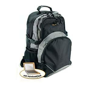 XOMAX XM-R103 mochila con altavoces y una conexión activa para reproductores de MP3, reproductores de CD, iPod, teléfonos inteligentes, etc para la música en movimiento