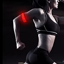 HiGo LED Slap Bracelet, Rainproof Glow in the Dark Sports Armband with Reflecive Printing, Perfect Gifts for Kids, 100% Quality Guarantee
