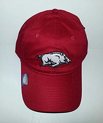 Arkansas Razorbacks Adjustable Snapback Hat Embroidered Cap from Signa.