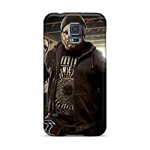 AaronBlanchette Samsung Galaxy S5 Protective Hard Cell-phone Cases Customized Fashion Hatesphere Band Pictures [XrE19760CsoE]