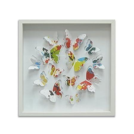 Walplus Wand Aufkleber 13 Bunte Lackierung Schmetterlinge Mdf